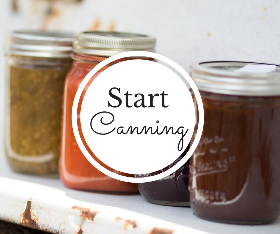 Start Canning is THE self paced e course for busy beginners. Learn how to can delicious, wholesome foods like jam, pickles, pasta sauce, and more from an expert and modern canner. Enroll today!