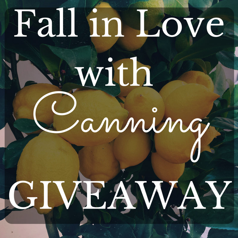 Enter to win the Fall in Love with Canning Giveaway! The Domestic Wildflower is giving away to one lucky winner the Start Canning E Course + all the gear a beginner would need to start canning! Enter to win now!