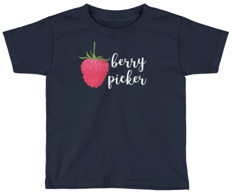 Cutest little berry picker tee shirt! For canning lovers from Love Into Jars!
